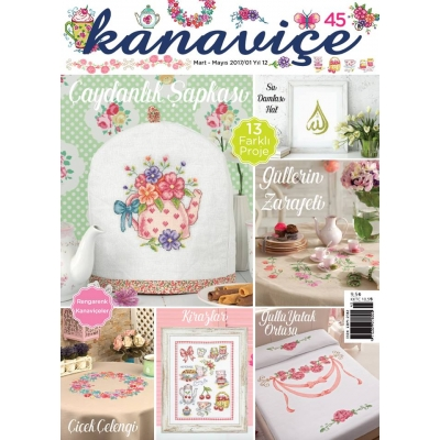 DMC CROSS STITCH MAGAZINES 45th