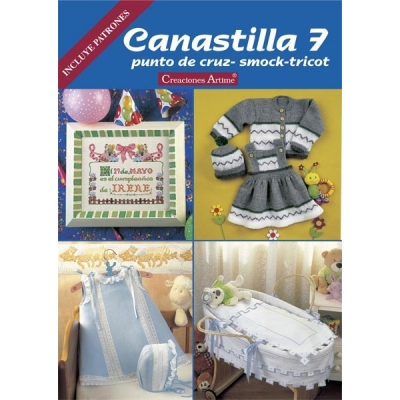 Canastilla Spanish Embroidery Magazines 7
