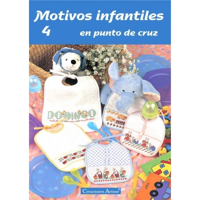Motivos İnfantiles Spanish Cross-Stitch Magazines 4