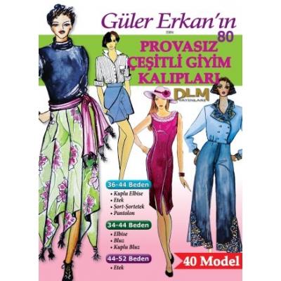 GULER ERKAN'S SEWING MAGAZINE 80th