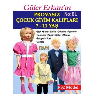 GULER ERKAN'S SEWING MAGAZINE 81st