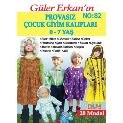 GULER ERKAN'S SEWING MAGAZINE 82nd
