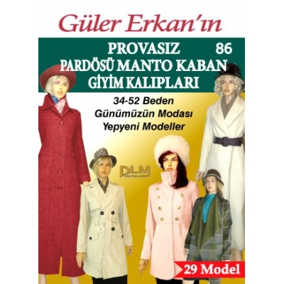 GULER ERKAN'S SEWING MAGAZINE 86th