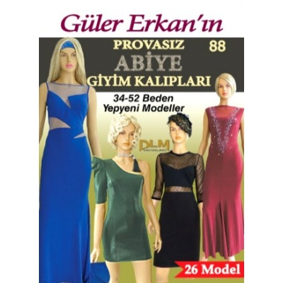 GULER ERKAN'S SEWING MAGAZINE 88th