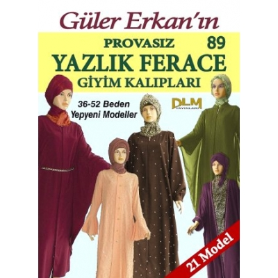 GULER ERKAN'S SEWING MAGAZINE 89th