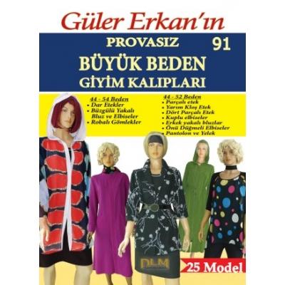 GULER ERKAN'S SEWING MAGAZINE 91st