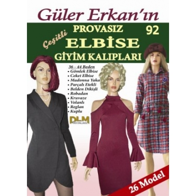 GULER ERKAN'S SEWING MAGAZINE 92nd