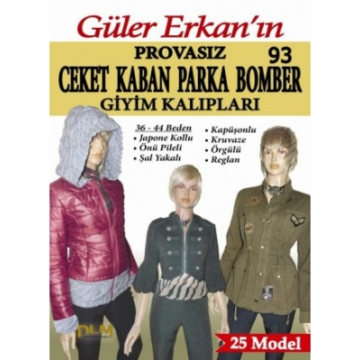 GULER ERKAN'S SEWING MAGAZINE 93th