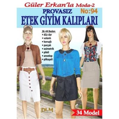 GULER ERKAN'S SEWING MAGAZINE 94th