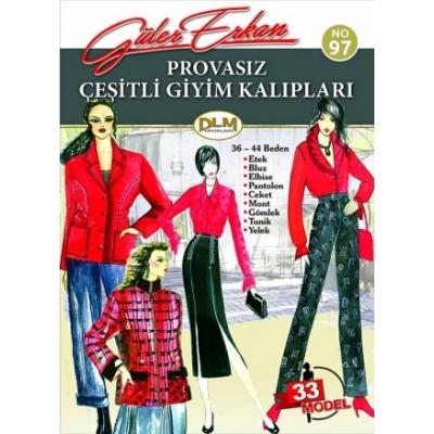 GULER ERKAN'S SEWING MAGAZINE 97th