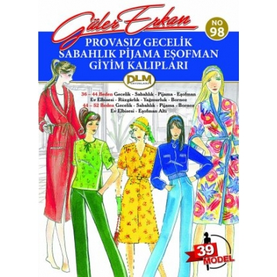 GULER ERKAN'S SEWING MAGAZINE 98th
