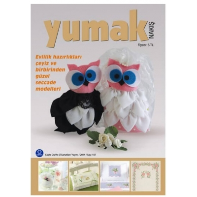 Yumak Embroidery Magazine 107