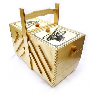 Three Storey Sewing Box