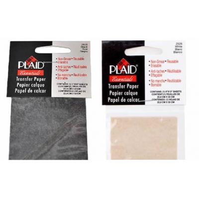 PLAID Hobi, Karbon Transfer Kağıdı, Beyaz-Siyah