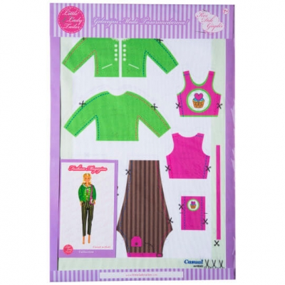 Little Lady Tailor Doll Dress Sewing Set M10-D2