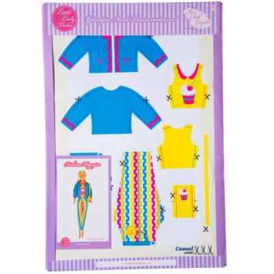 Little Lady Tailor Doll Dress Sewing Set M10-D5