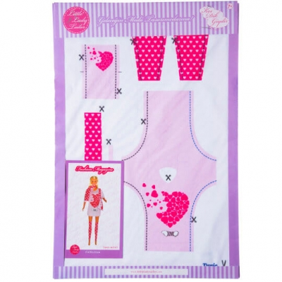 Little Lady Tailor Doll Dress Sewing Set M2-D1