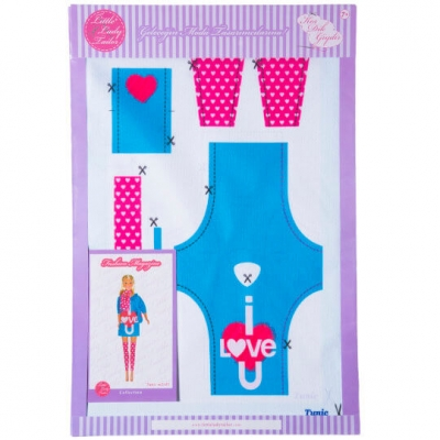 Little Lady Tailor Doll Dress Sewing Set M2-D5