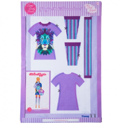 Little Lady Tailor Doll Dress Sewing Set M4-D1