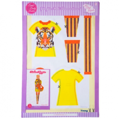 Little Lady Tailor Doll Dress Sewing Set M4-D5