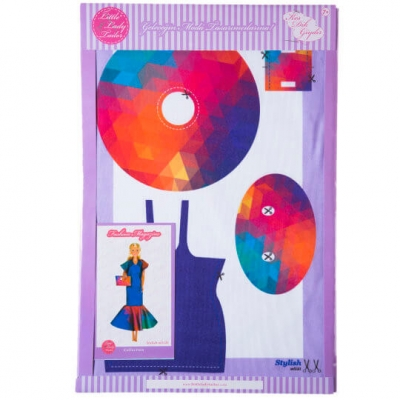 Little Lady Tailor Doll Dress Sewing Set M5-D1