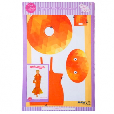 Little Lady Tailor Doll Dress Sewing Set M5-D3