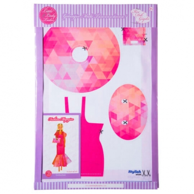 Little Lady Tailor Doll Dress Sewing Set M5-D4