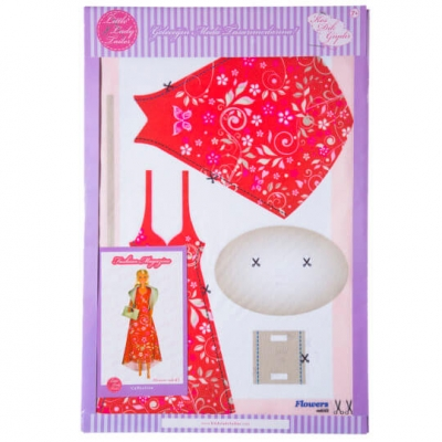 Little Lady Tailor Doll Dress Sewing Set M6-D2