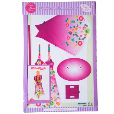 Little Lady Tailor Doll Dress Sewing Set M6-D4