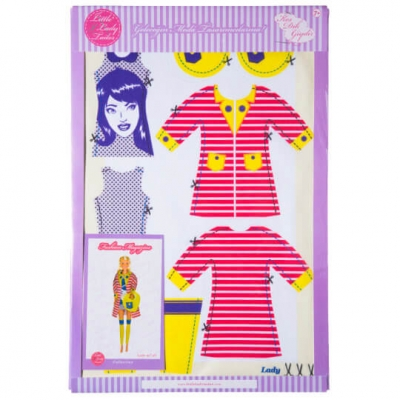 Little Lady Tailor Doll Dress Sewing Set M7-D1