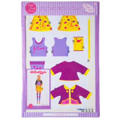 Little Lady Tailor Doll Dress Sewing Set M8-D1