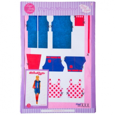 Little Lady Tailor Doll Dress Sewing Set M9-D1