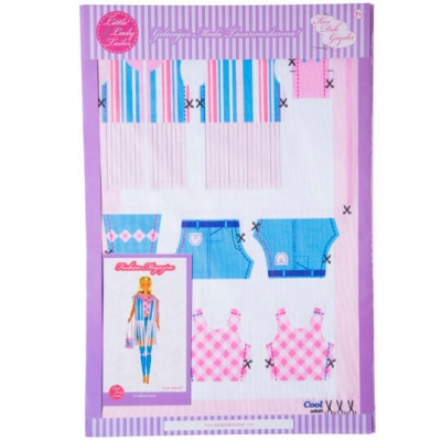 Little Lady Tailor Doll Dress Sewing Set M9-D3