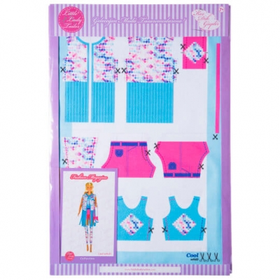 Little Lady Tailor Doll Dress Sewing Set M9-D5