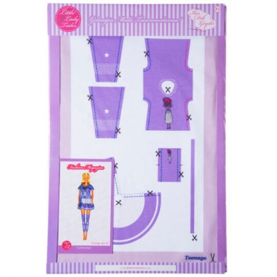 Little Lady Tailor Doll Dress Sewing Set M1-D2
