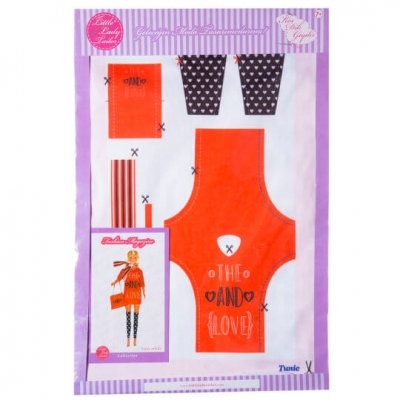Little Lady Tailor Doll Dress Sewing Set M2-D3