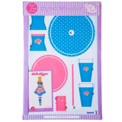 Little Lady Tailor Doll Dress Sewing Set M3-D1