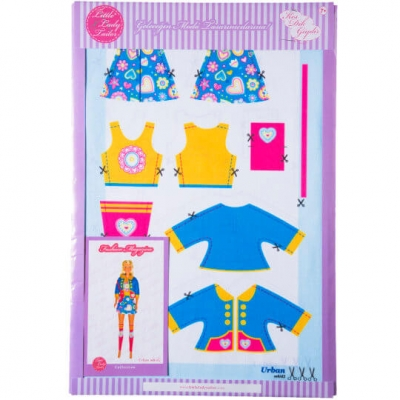 Little Lady Tailor Doll Dress Sewing Set M8-D2