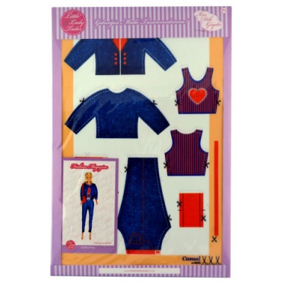 Little Lady Tailor Doll Dress Sewing Set M10-D3
