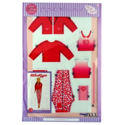 Little Lady Tailor Doll Dress Sewing Set M10-D4