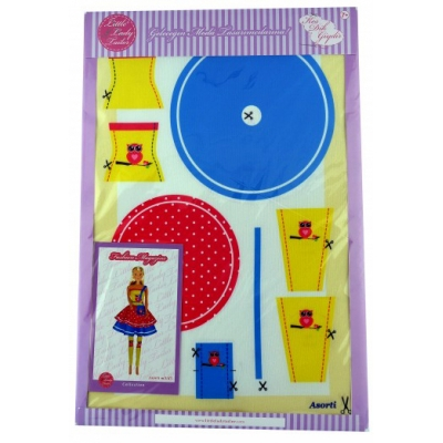 Little Lady Tailor Doll Dress Sewing Set M3-D5