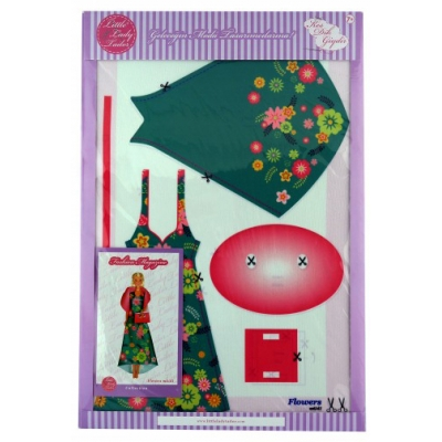 Little Lady Tailor Doll Dress Sewing Set M6-D1