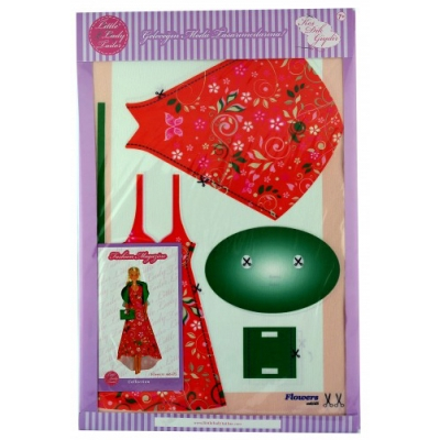 Little Lady Tailor Doll Dress Sewing Set M6-D5
