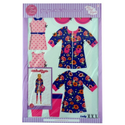 Little Lady Tailor Doll Dress Sewing Set M7-D5