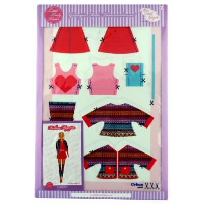 Little Lady Tailor Doll Dress Sewing Set M8-D3