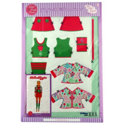 Little Lady Tailor Doll Dress Sewing Set M8-D4