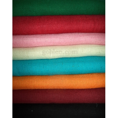 Renkli Çuval Kumaş - Renkli Jüt