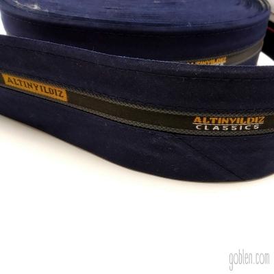 Waistband Lining Navy Blue Width:6cm