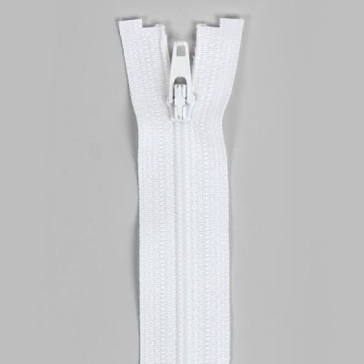 Felt Zipper 40-50-60cm, White