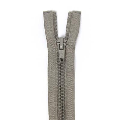 Felt Zipper 40-50-60cm, Grey